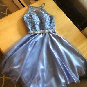 Dresses & Skirts - periwinkle short ball dress